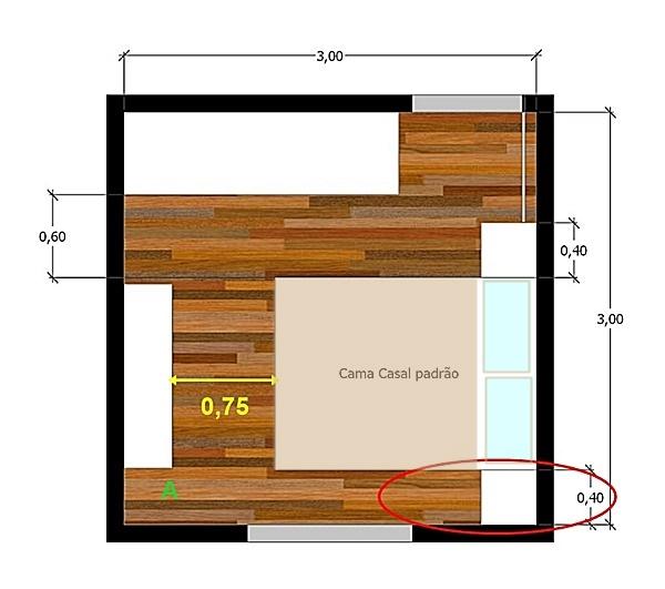 quarto 3x3 distribuição 3