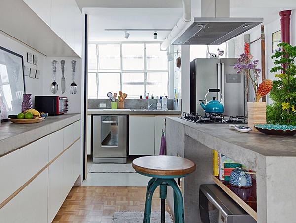 cantinho para refeição na cozinha pequena 7