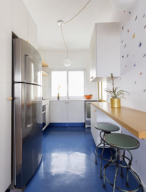 cantinho para refeição na cozinha pequena 8