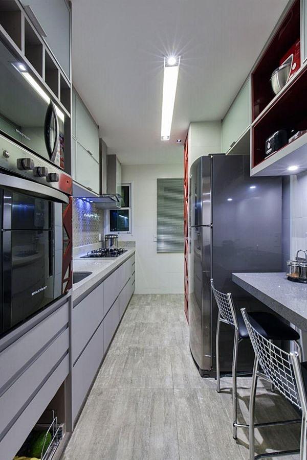 cantinho para refeição na cozinha pequena 18