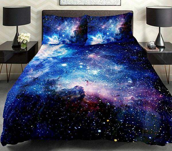 quarto cama colcha céu