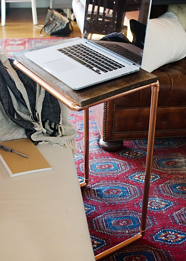 houseofjadeinteriorsblog DIY-Copper-Laptop-Table-6-731x1024