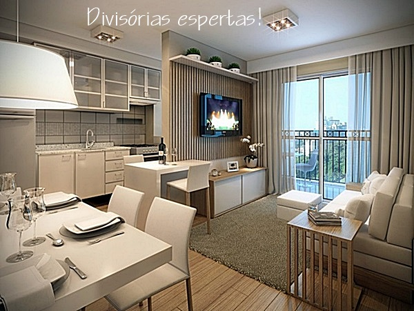 apartamento integrado pequeno 8