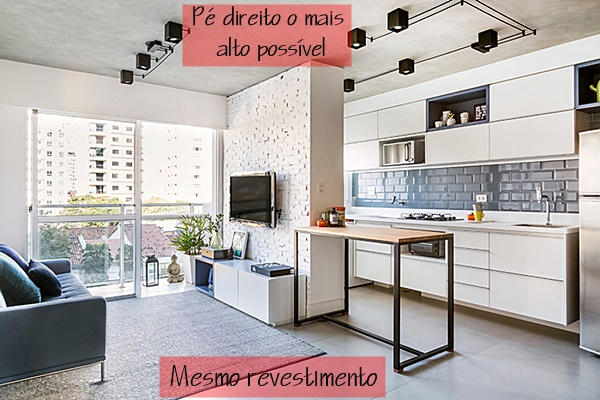 apartamento integrado pequeno 5