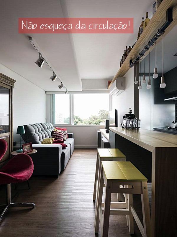 apartamento integrado pequeno 15