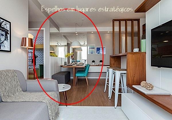 apartamento integrado pequeno 14