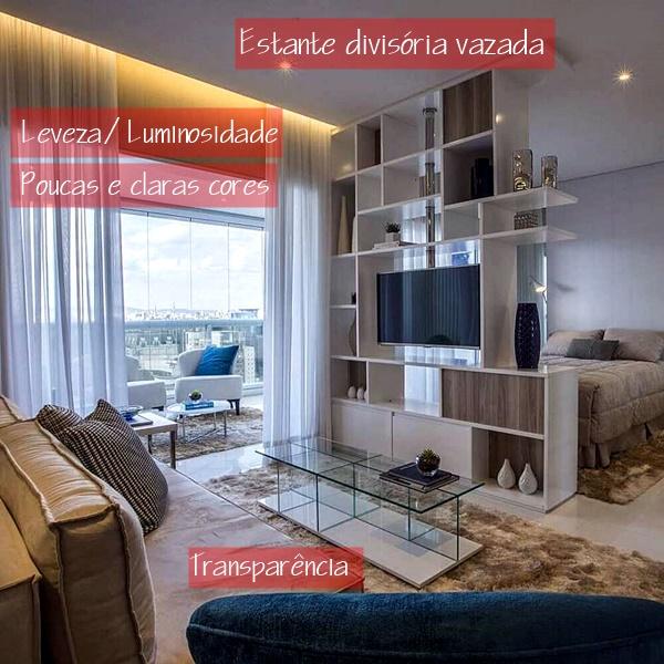 apartamento integrado pequeno 13