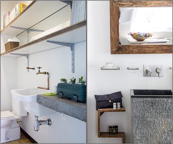 Banheiro industrial simples 5