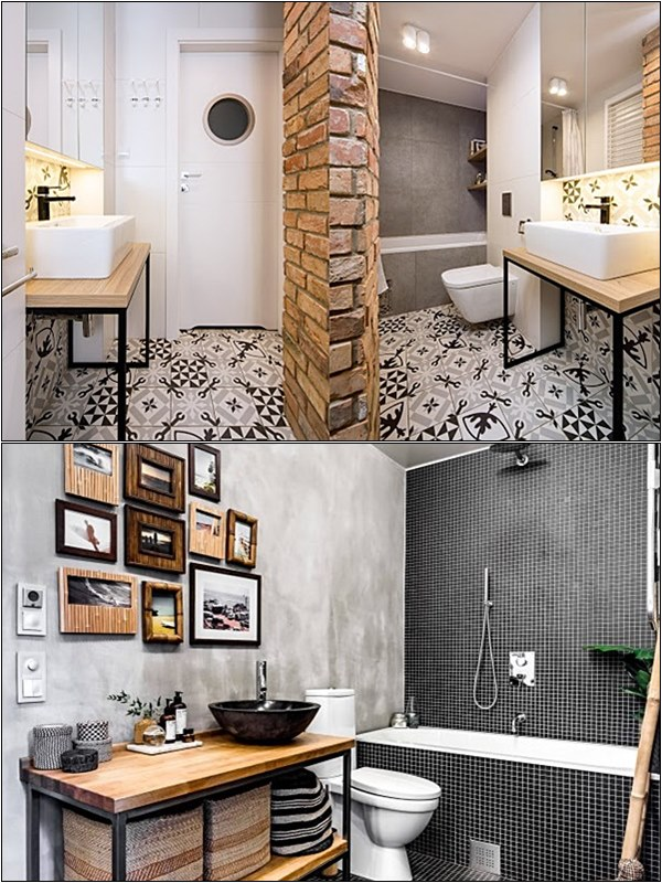 Banheiro industrial simples 9
