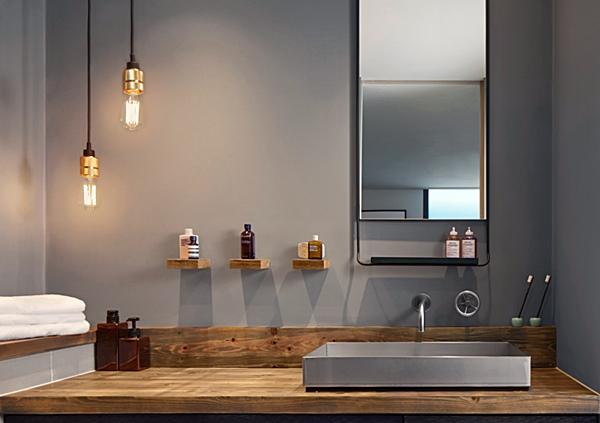 banheiro industrial sofisticado 9