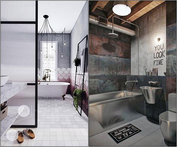 banheiro industrial sofisticado 2