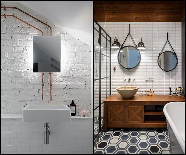 banheiro industrial sofisticado 8