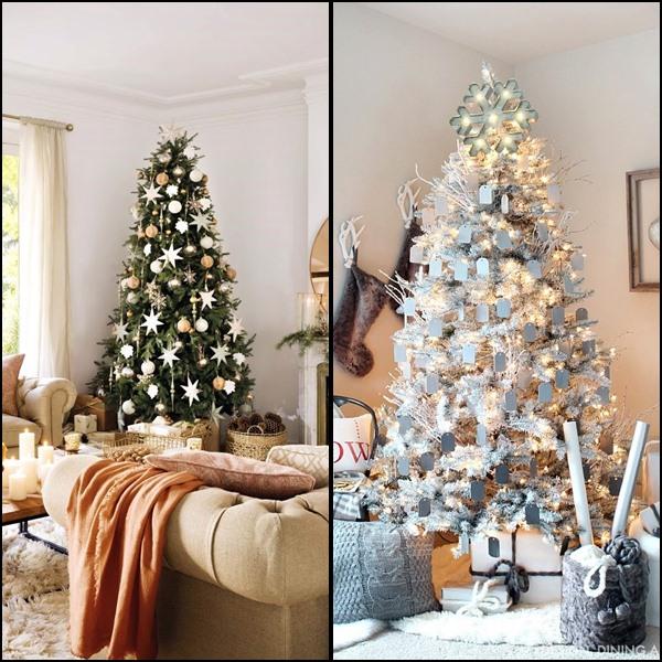 decoração diferente na árvore de natal