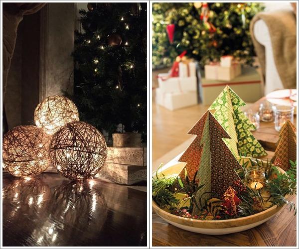 decoração de natal exterior e interior