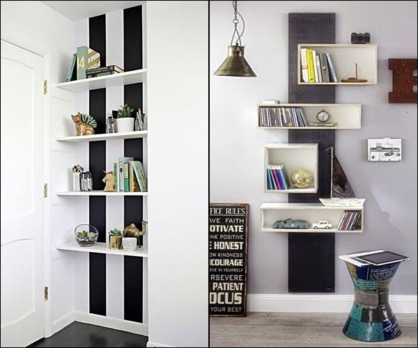pequenas estantes e nichos 5