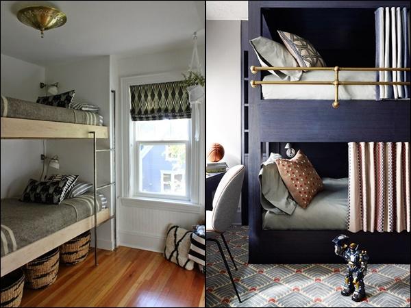 quarto para 2 crianças cama beliche comum