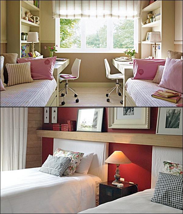 quarto para 2 crianças camas lado a lado 2