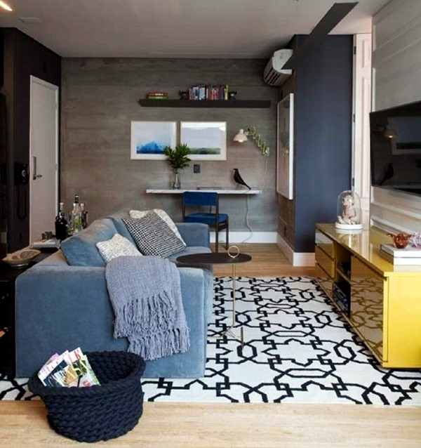 muitochique tapetes-modernos-para-sala-pequena-