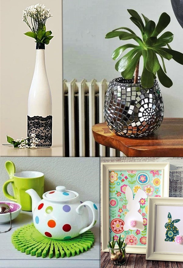 decorar com materiais baratos
