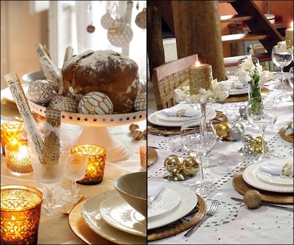 decoração de natal mesas