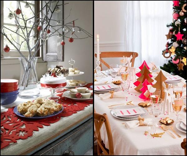 decoração de natal mesa 2