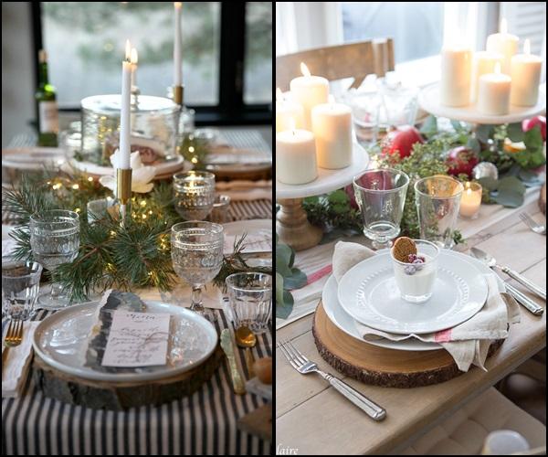 decoração natal mesa 5