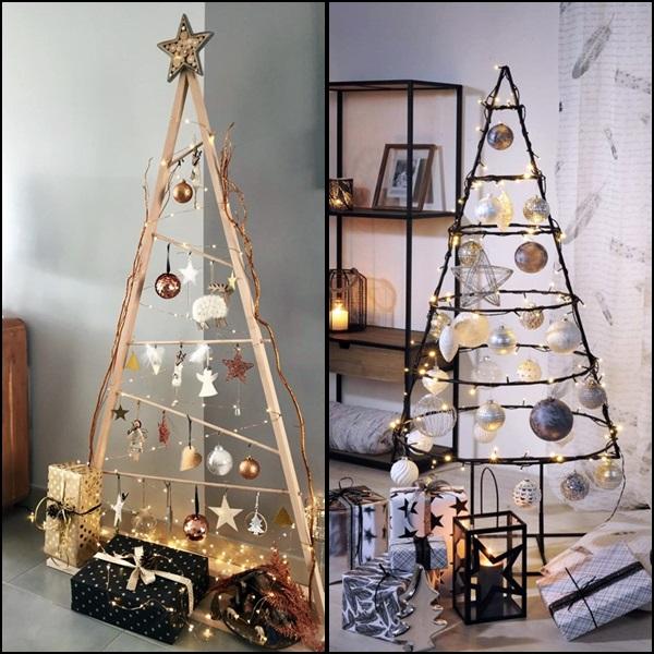 decoração de natal árvores