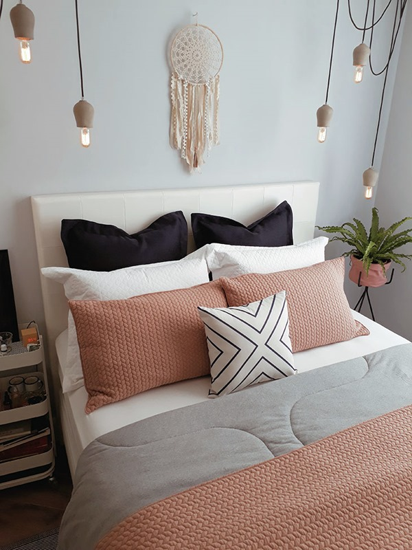 ideia para arrumar a cama