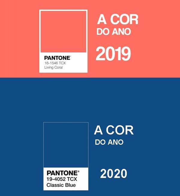 cores de 2020 - cor do ano pantone