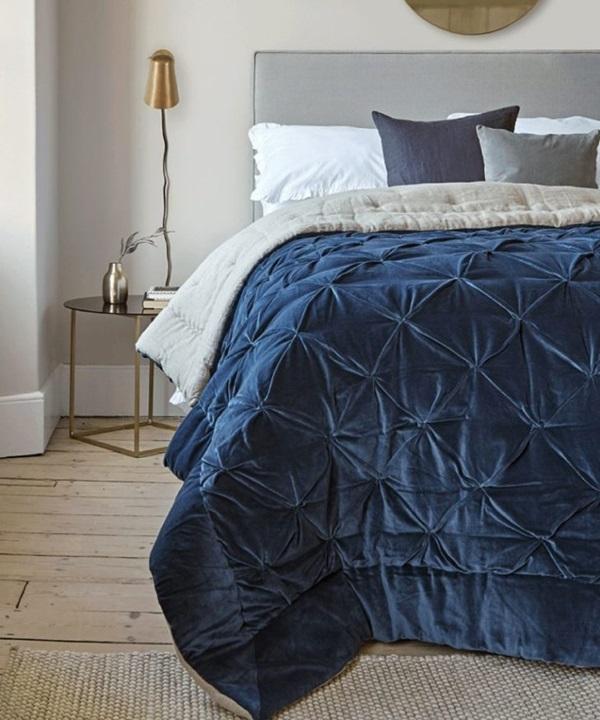 quarto azul classico