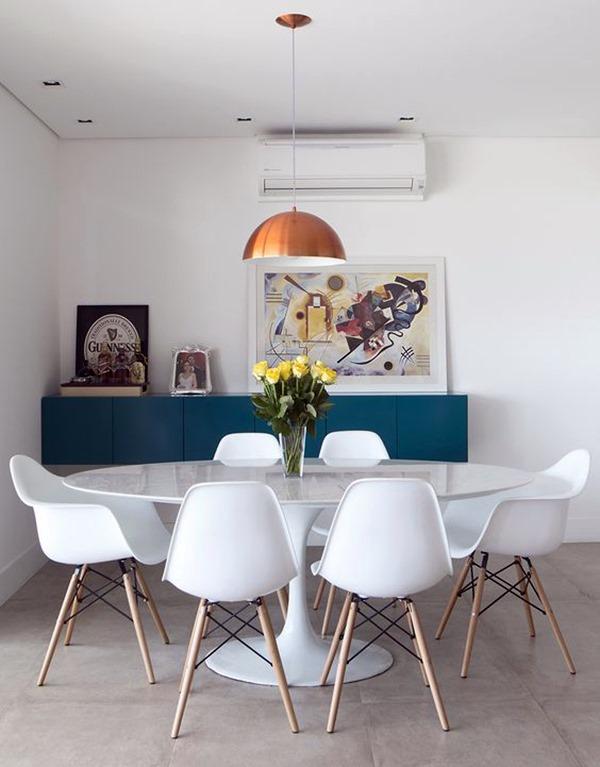 sala mesa oval