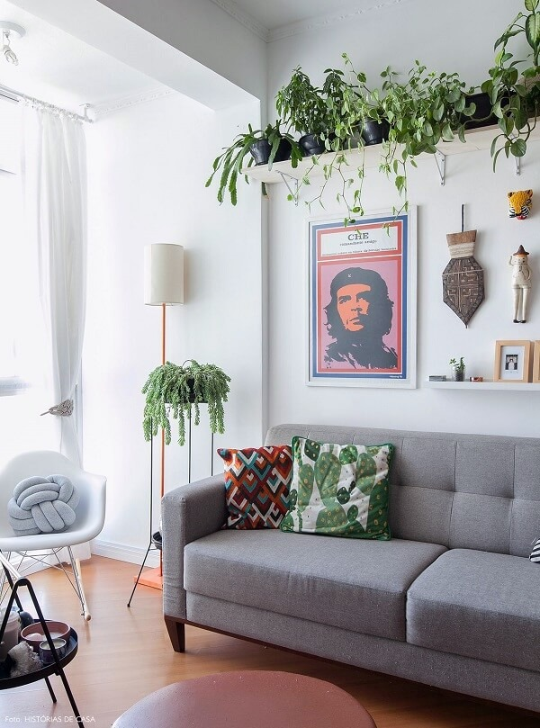 o melhor sofá para sala pequena
