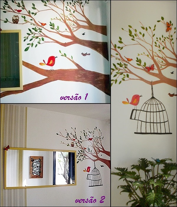 decoração de quarto com pintura