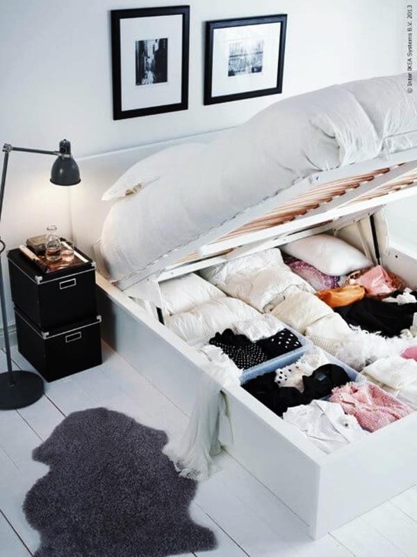 cama box bau para quarto pequeno