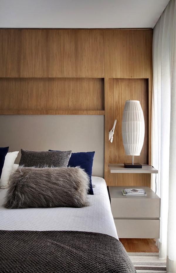 armario acima da cama