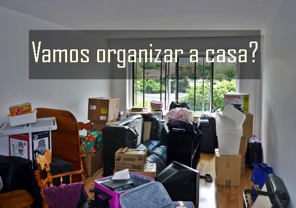 casa bagunçada - vamos organizar a casa