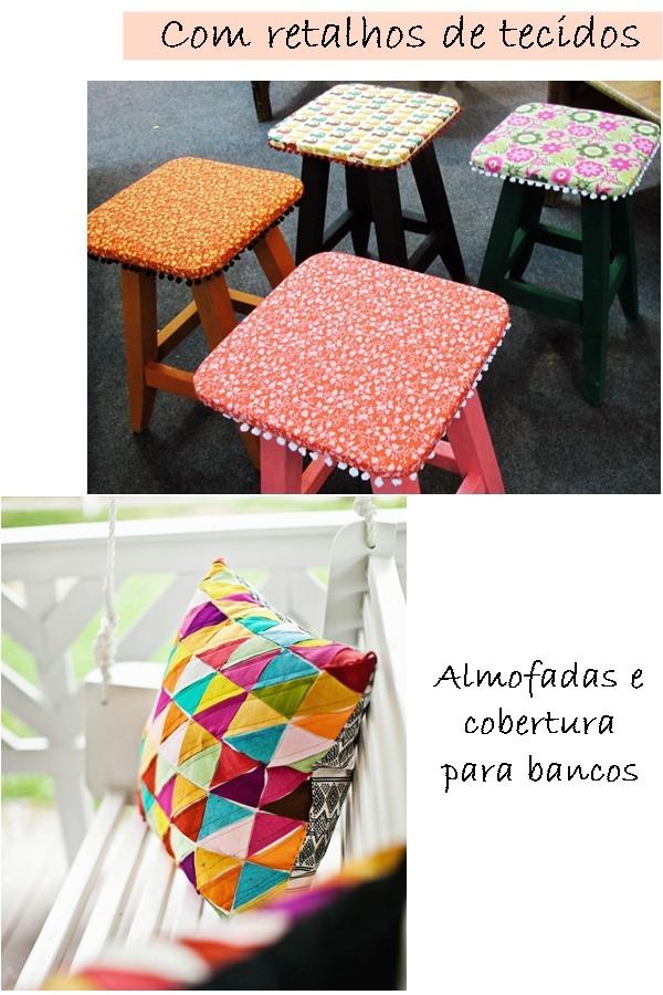 ideias para fazer em casa com retalhos de tecido
