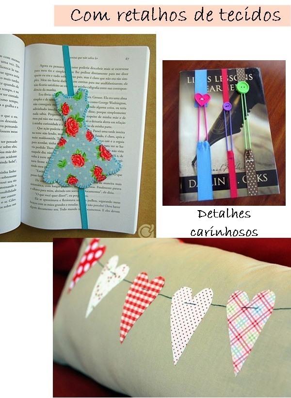 ideias para fazer com retalhos de tecidos