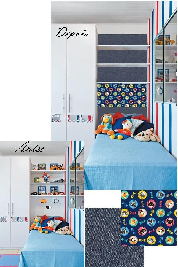 papel contact no quarto da criança