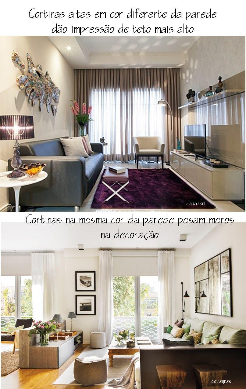 cortinas e cores