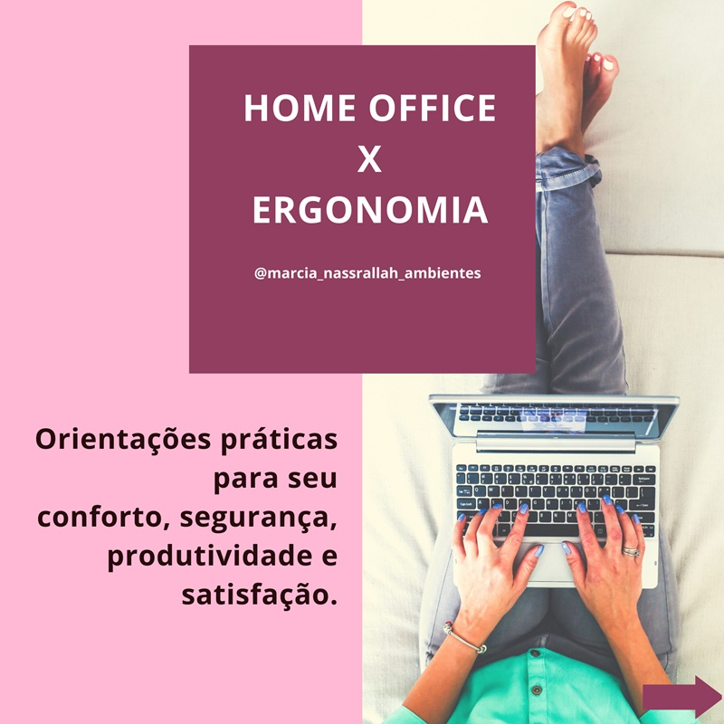 O Home office confortável