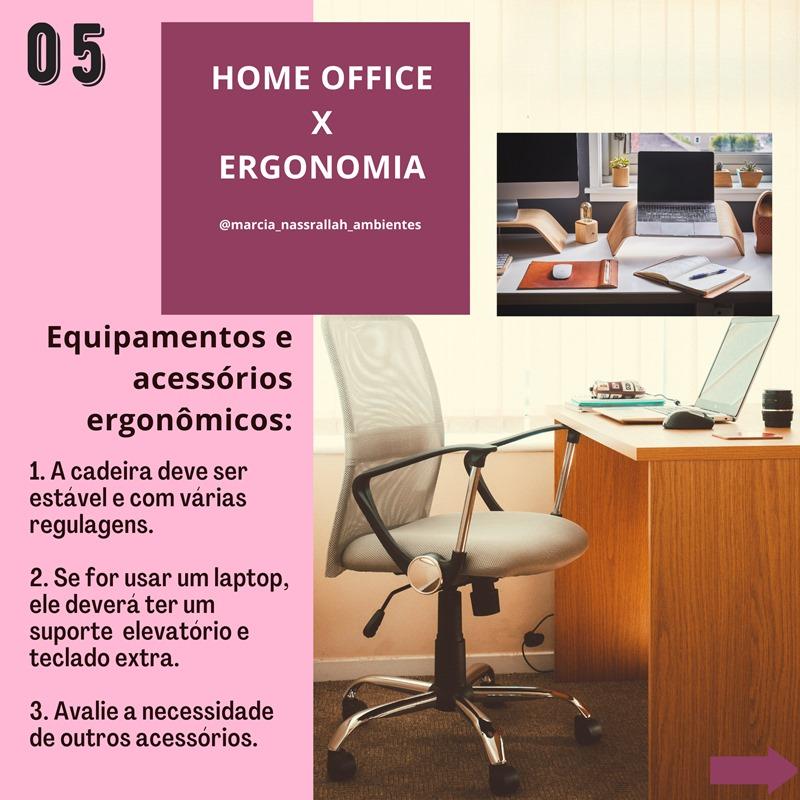 home office e ergonomia