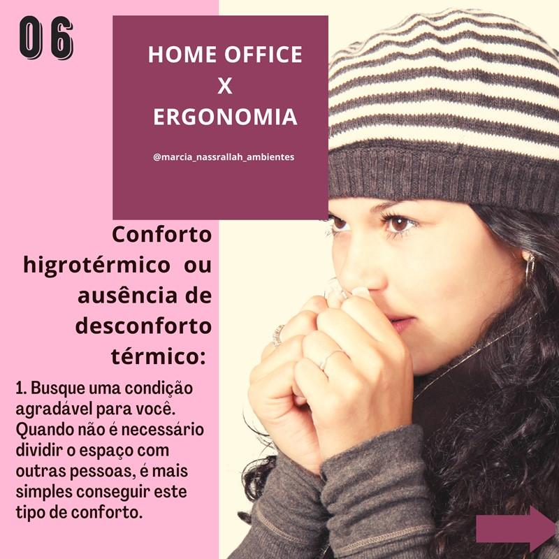 home office e conforto térmico