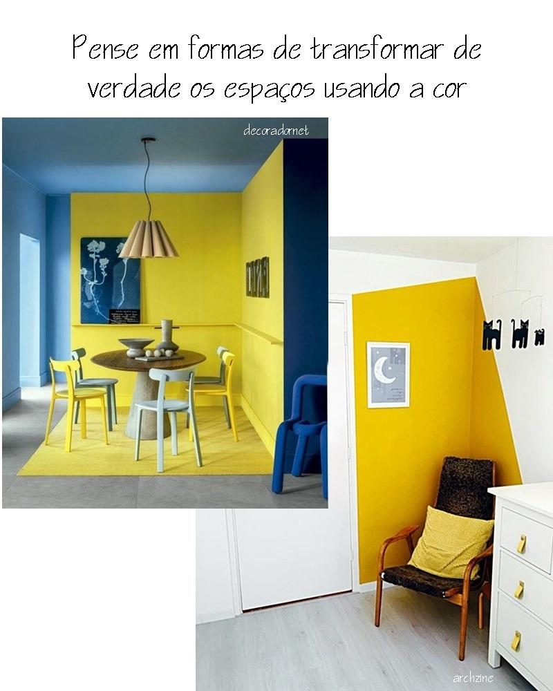 use as cores para transformar os ambientes