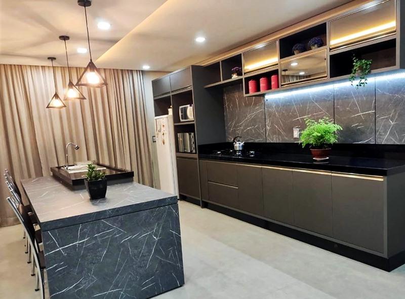cozinha padrão  cinzell