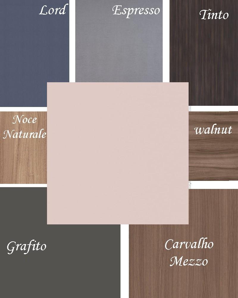 combinações padrão sal rosa arauco