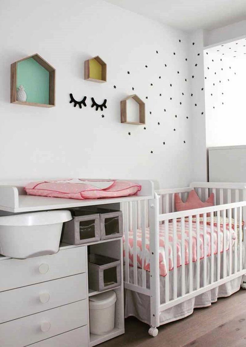 quartos de bebê seguros, práticos e confortáveis