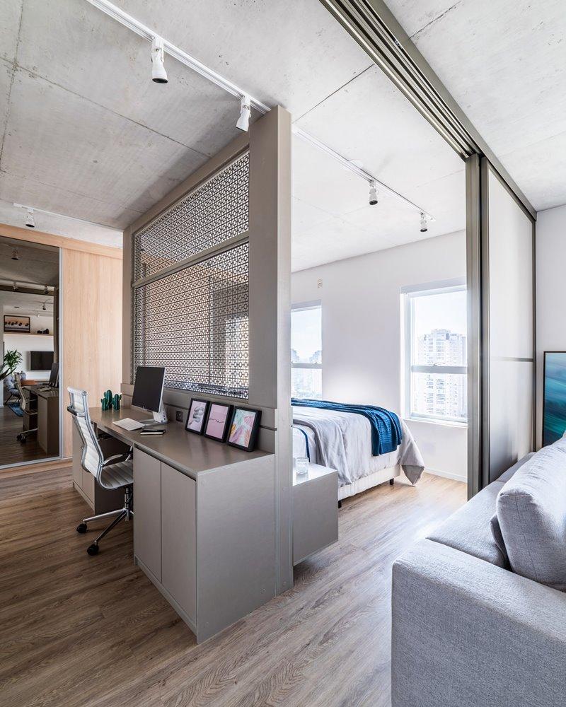 apartamento integrado com office