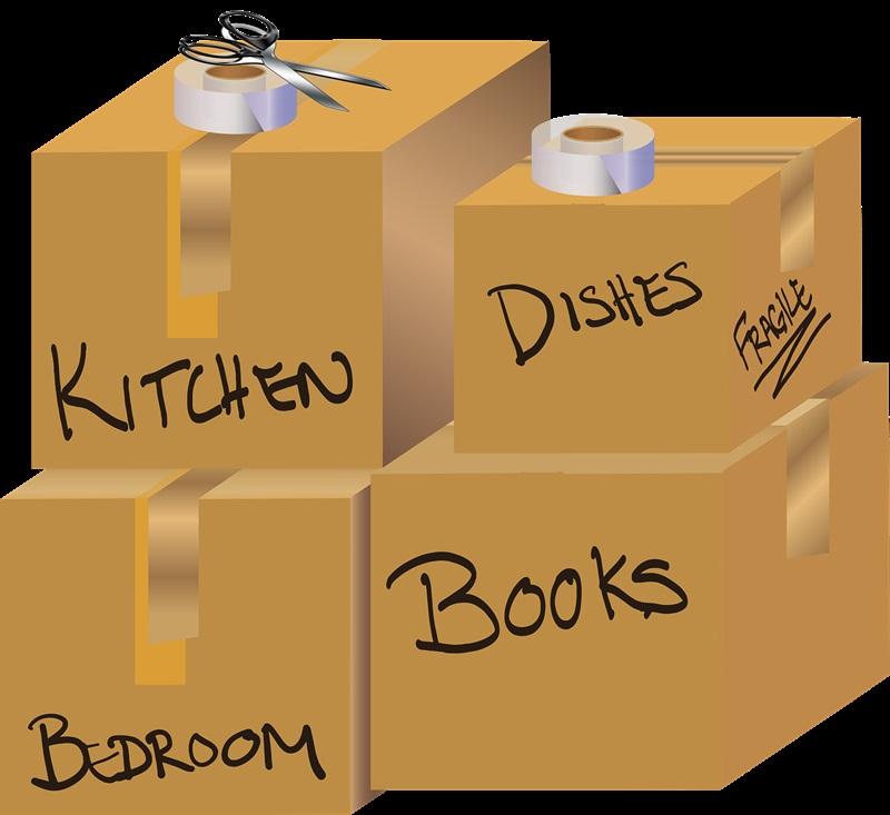 caixas para mudança