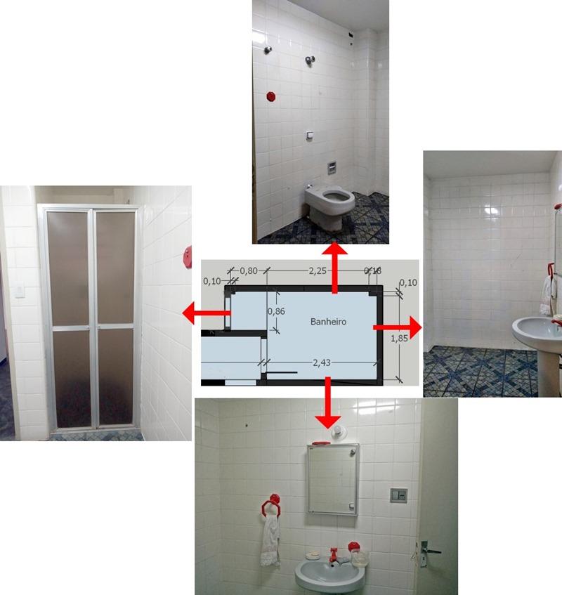 decoração rápida e barata na pandemia - banheiro antes
